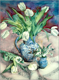 Julia Rowntree - Tulips and Snowdrops