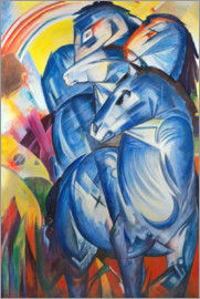 Franz Marc - Tower of Blue Horses
