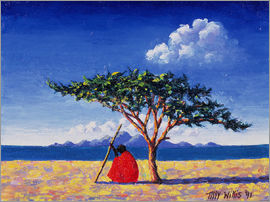 Tilly Willis - Under the Acacia Tree, 1991