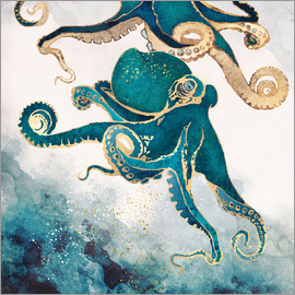 SpaceFrog Designs - underwater dream V Octopus