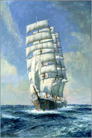 Claude Marks - Unnamed clipper ship