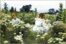 Charles Courtney Curran - Unter den Wildblumen