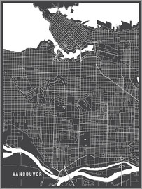 Main Street Maps - Vancouver Canada Map