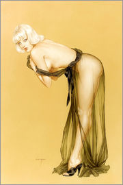 Alberto Vargas - Vargas Pin-Up-Mädchen, September 1962