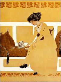 Clarence Coles Phillips - Discarding from strength