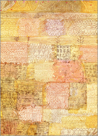 Paul Klee - Villa district in Florence