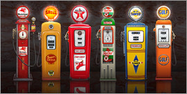 Michael Fishel - Vintage Gas Pumps