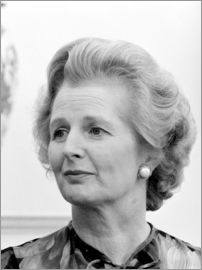 John Parrot - Vintage photo of Margaret Thatcher.