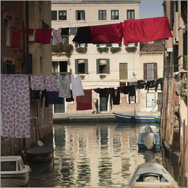 Alex Saberi - Washing lines in Venice, Italy