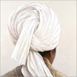 Lincoln Seligman - Weißer Turban, 2014