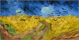 Vincent van Gogh - Corn-field with Crows