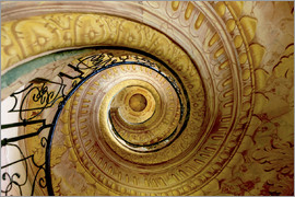 Tom Norring - RM. Staircase between Church and Library. Melk Abbey. Melk. Austria.