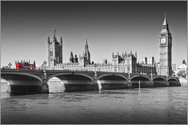 Melanie Viola - Westminster Bridge and Bus