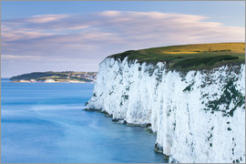 John Alexander - White Chalk cliffs near Old Harry Rocks, Jurassic Coast, UNESCO World Heritage Site, Dorset, England