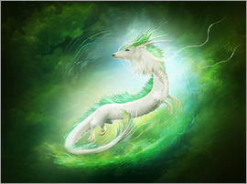 Elena Dudina - White dragon