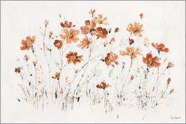 Lisa Audit - Wildflowers I orange
