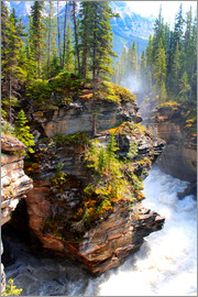 John Morris - Wildnis pur am Maligne Canyon im Jasper Nationalpark, Kanada
