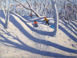 Andrew Macara - Winter in Bramcote, Nottingham