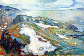 Edvard Munch - Winterlandschaft