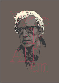 Fourteenlab - Woody Allen - portrai