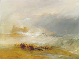 Joseph Mallord William Turner - Wreckers - Küste von Northumberland
