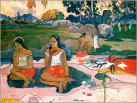 Paul Gauguin - Wunderbare Quelle (Nave nave moe)