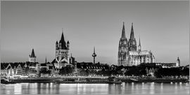 Michael Valjak - Magnificent Cologne black and white