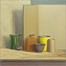 William Packer - Yellow and Green