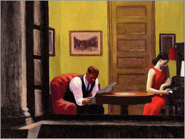Edward Hopper - Zimmer in New York