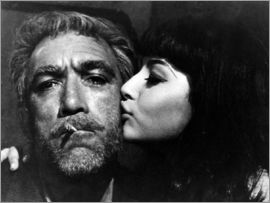 ZORBA THE GREEK, Anthony Quinn mit Eleni Anousaki