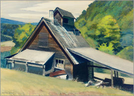 Edward Hopper - Zuckerhaus in Vermont