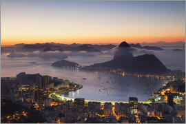 Ian Trower - Sugarloaf Mountain and Botafogo Bay