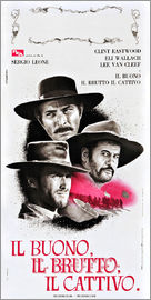 THE GOOD, THE BAD, AND THE UGLY (IL BUONO, IL BRUTTO, IL CATTIVO), Lee Van Cleef, Eli Wallach, Clint