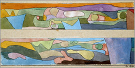Paul Klee - Two small watercolors