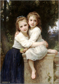 William Adolphe Bouguereau - Zwei Schwestern