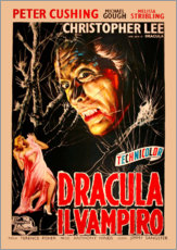 Gallery Print  Dracula (italienisch) - Entertainment Collection