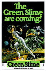 Wandsticker The Green Slime
