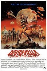 Wandsticker  Barbarella - Entertainment Collection