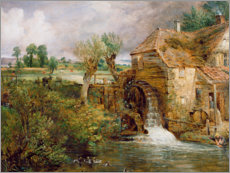 Gallery Print  Mühle in Gillingham - John Constable