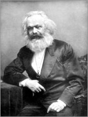 Wandsticker  Karl Marx - English Photographer