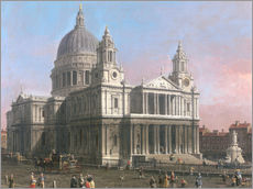 Wandsticker  St. Pauls Kathedrale - Antonio Canaletto