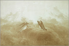 Gallery Print  Engel in Anbetung - Caspar David Friedrich