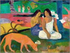 Alubild  Arearea - Paul Gauguin