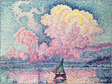 Wandsticker  Antibes - Paul Signac