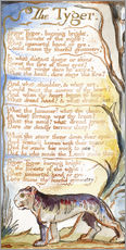 Gallery Print  Der Tiger - William Blake