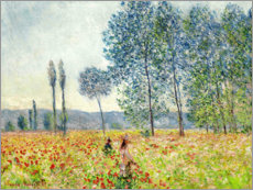 Gallery Print  Sous Les Peupliers - Claude Monet