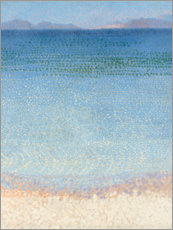 Gallery Print  Die Iles d'Or - Henri Edmond Cross