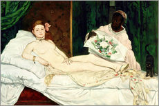 Gallery Print  Olympia - Edouard Manet