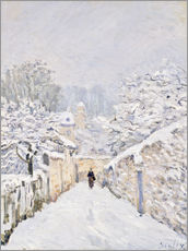 Gallery Print  Schnee in Louveciennes - Alfred Sisley