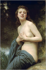 Gallery Print  Frühlingswind - William Adolphe Bouguereau